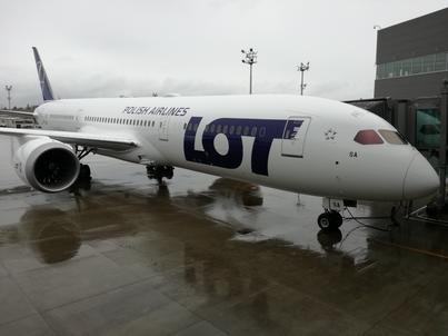 Boeing 787-9 Dreamliner to nawiększy samolot we flocie Polskich Linii Lotniczych LOT