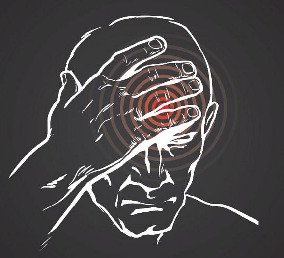 Glavobolja jedan od prvih simptoma
