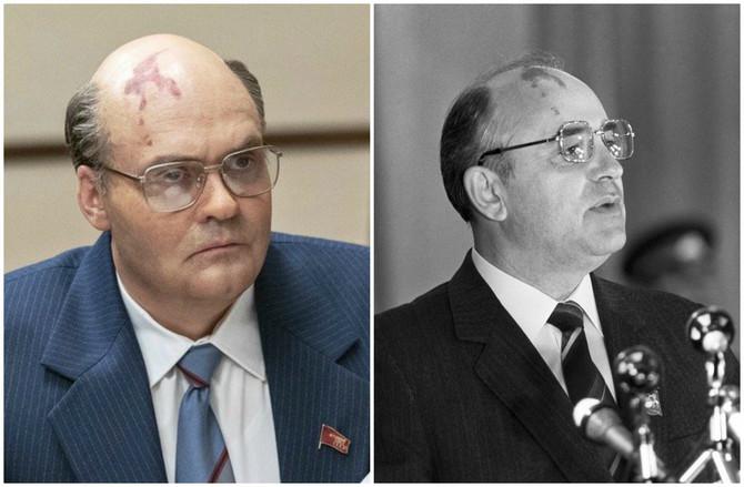 Dejvid Densik kao Mihail Gorbačov