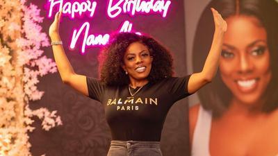 Beautiful photos from Nana Aba Anamoah's lavish birthday party