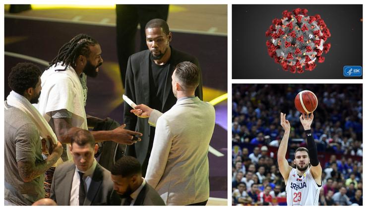NBA korona, strah