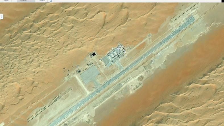 Na Mapach Google niestety nie znajdziemy tego obiektu. Dziennikarz portalu Wired.com zlokalizował tajną bazę USA przy pomocy, należącego do Microsoftu, Binga
