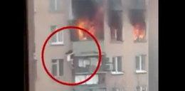 Spadła z 8. piętra i przeżyła. Wstrząsające nagranie!
