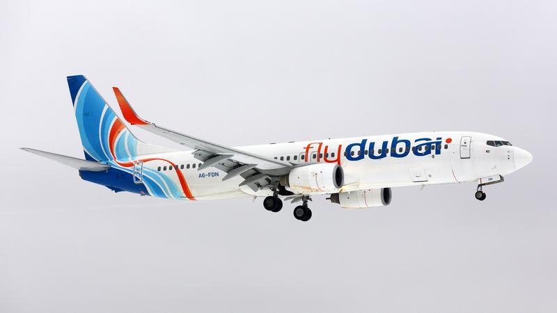 Samolot flydubai
