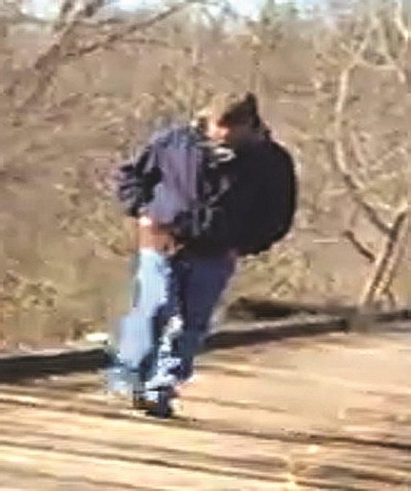 Filmowały się na moście, nie wiedziały, że uwieczniły swojego mordercę