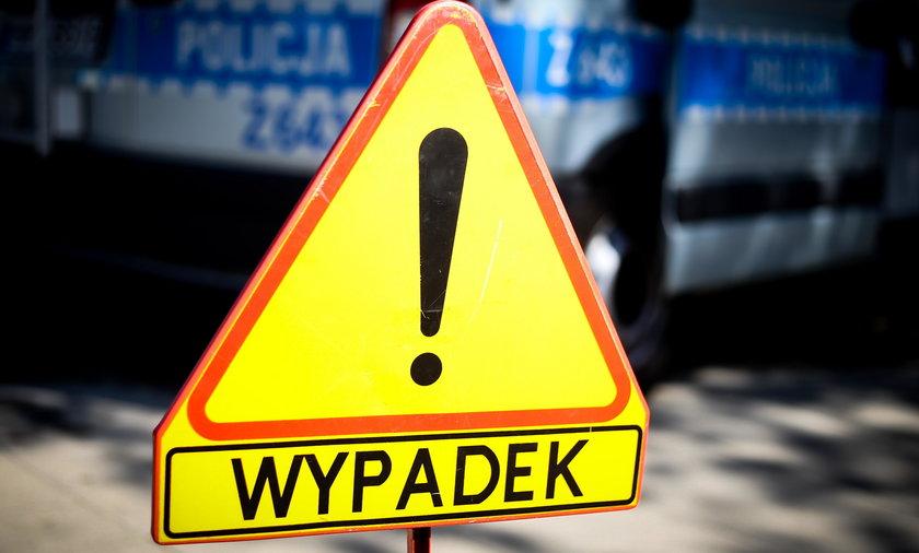 Wypadek radiowozu w Poznaniu!