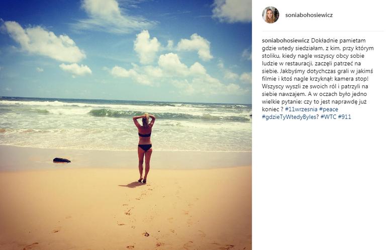 Sonia Bohosiewicz na Instagramie