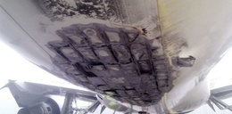 Tylko u nas! Tak wygląda podwozie boeinga 767. FOTO