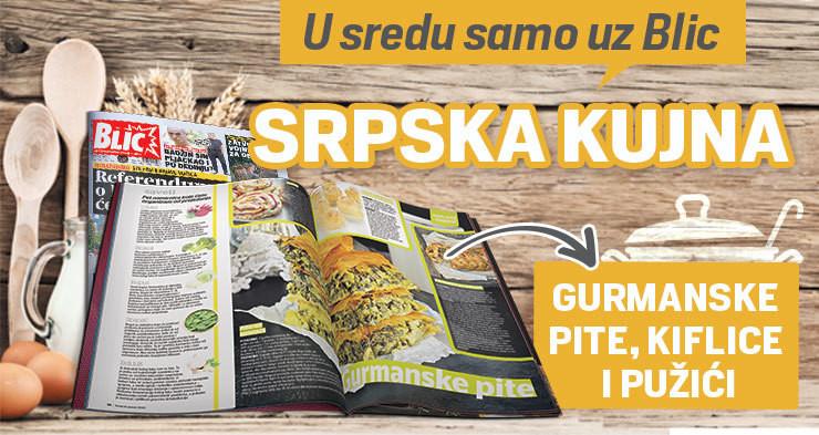 """Poklon magazin """"Srpska kujna"""" svake srede"""