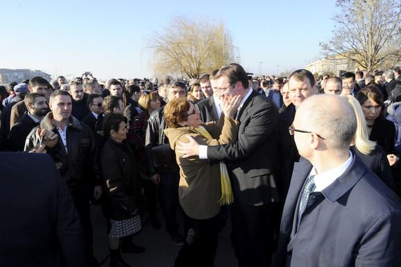 Vučić sa građanima