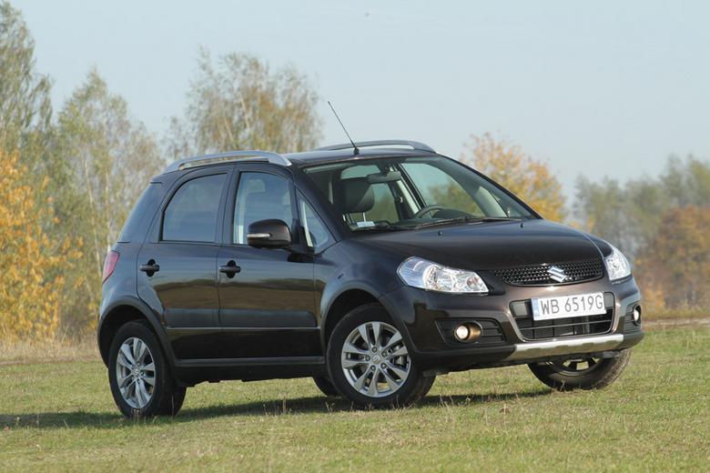 Test Suzuki SX4: teren mu niestraszny