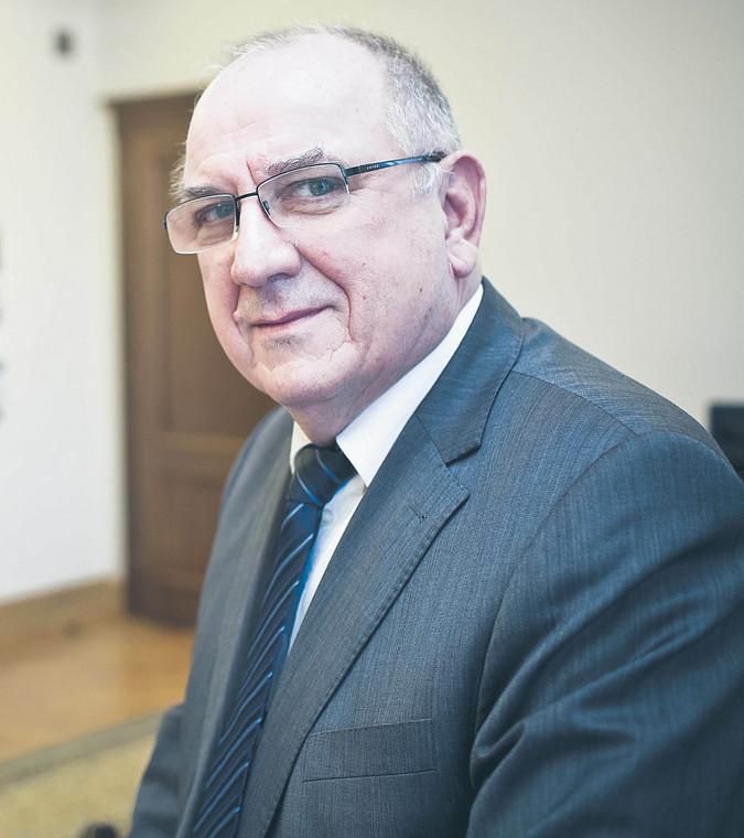 Jerzy Kozdroń, radca prawny, wiceminister sprawiedliwości w latach 2013–2015  fot. Wojtek Górski