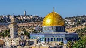 Setki osób z całego świata spędzają Wielkanoc w Jerozolimie