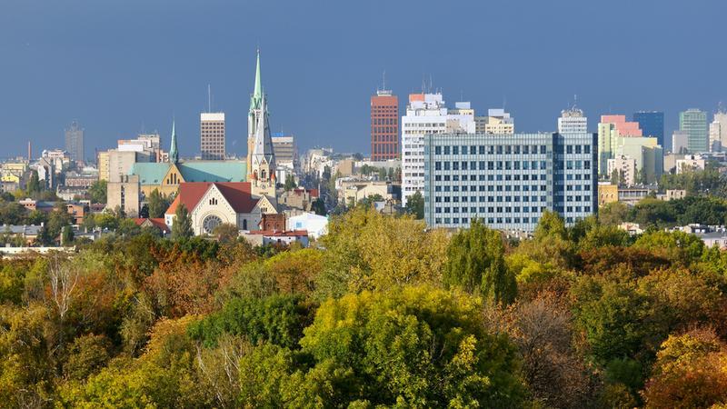 Łódź - centrum miasta