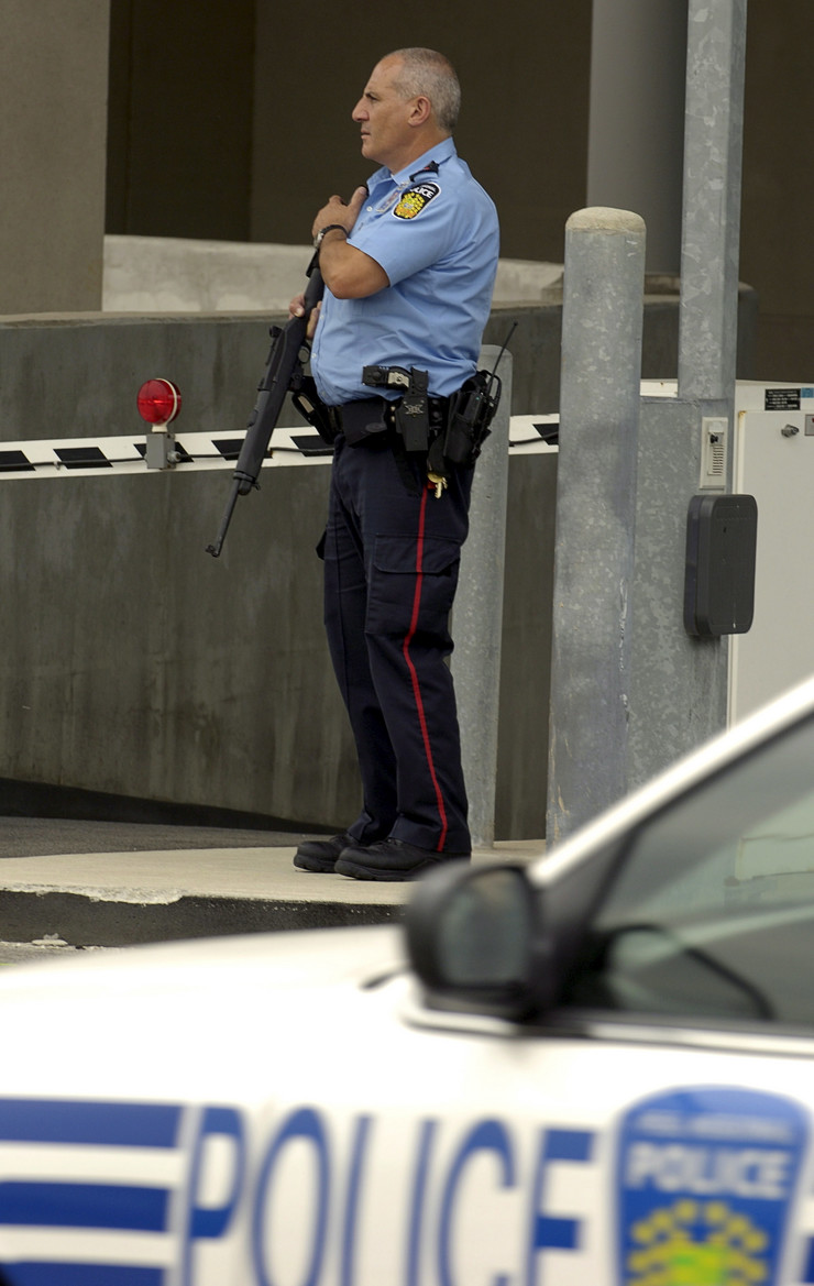 Kanadska policija Kanada EPA WARREN TODA