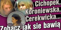 Cichopek, Koroniewska, Cerekwicka - zobacz jak bawiły się gwiazdy