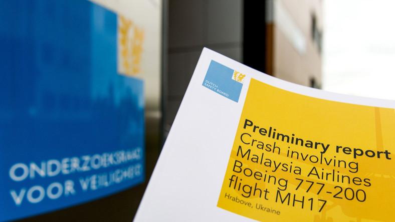Holandia publikuje raport w sprawie zestrzelenia boeinga. Moskwa nie komentuje