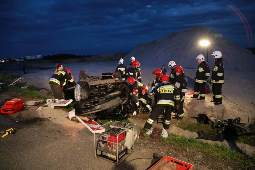 Wypadek we Wrzoskach pod Opolem