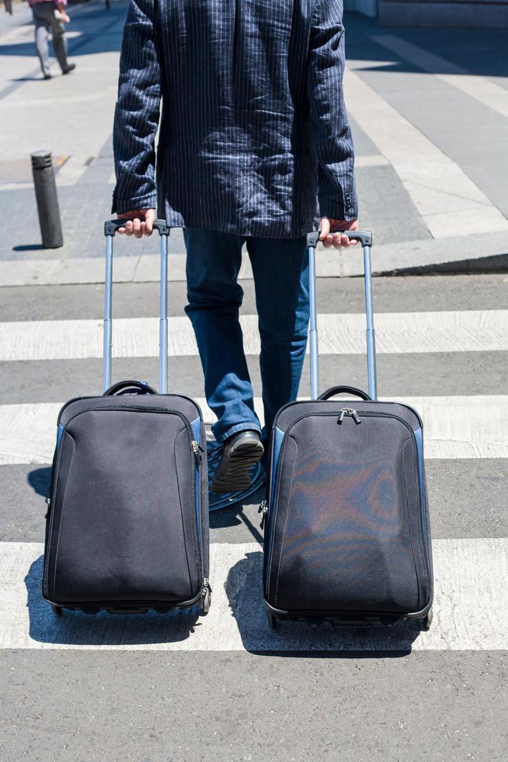 Kofer, putovanje, gastarbajter