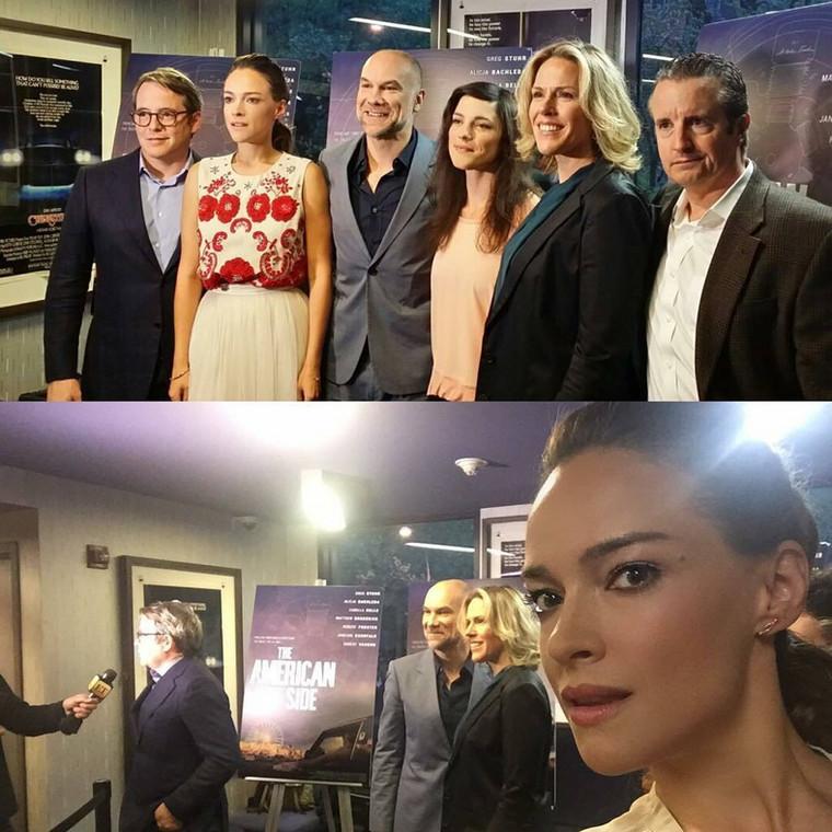 """Alicja Bachleda Curuś na premierze """"The American Side"""""""