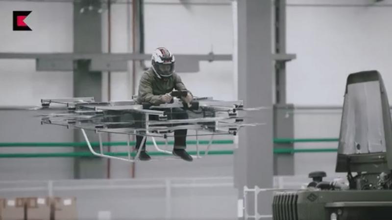 Kałasznikow przedstawił prototypowy pojazd latający