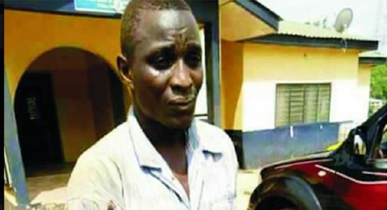 This man beheaded his own son for money rituals