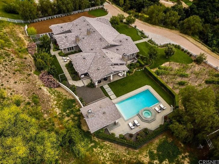 Kylie Jenner's sprawling mansion in Casablanca, Los Angeles [TMZ]