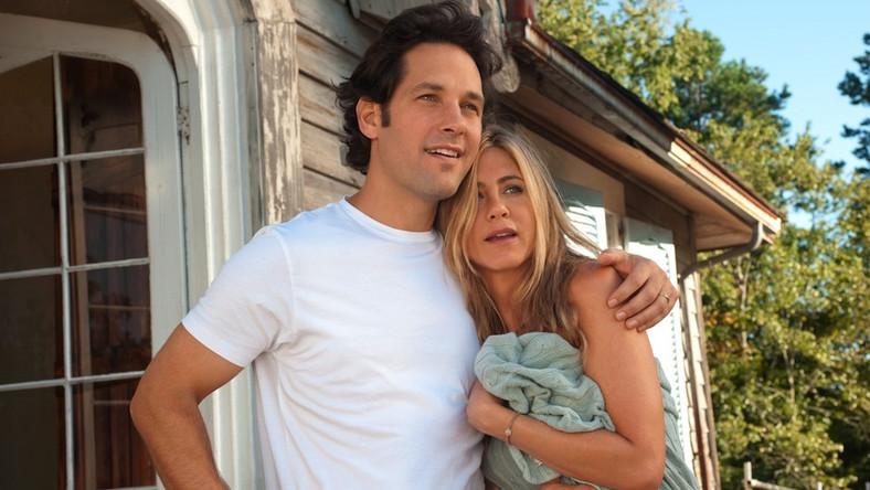 """Paul Rudd i Jennifer Aniston 13 lat temu spotkali się na planie filmu """"Moja miłość"""""""