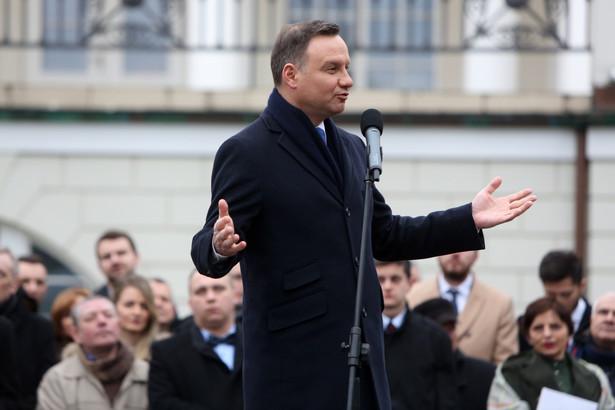Zrealizujemy naprawę Rzeczpospolitej - krok po kroku - mówił prezydent Andrzej Duda podczas wtorkowego spotkania z mieszkańcami Otwocka