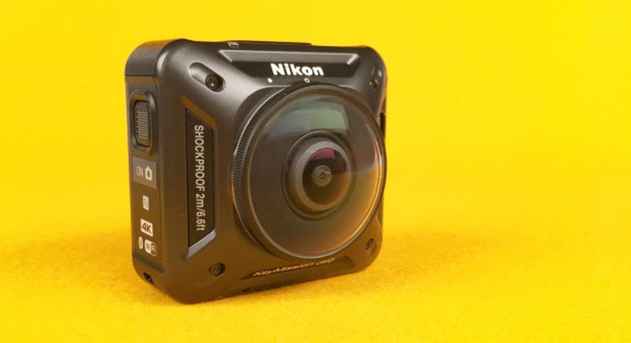 Nikon KeyMission 360 im Test: 4K und volle 360-Grad