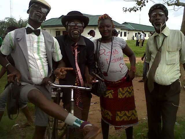 LASU students dressed as old school comedians  (Nairaland Forum)
