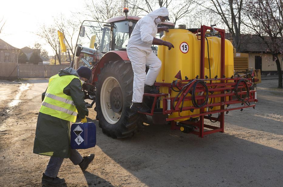 mezőgazdasági fertőtlenítés