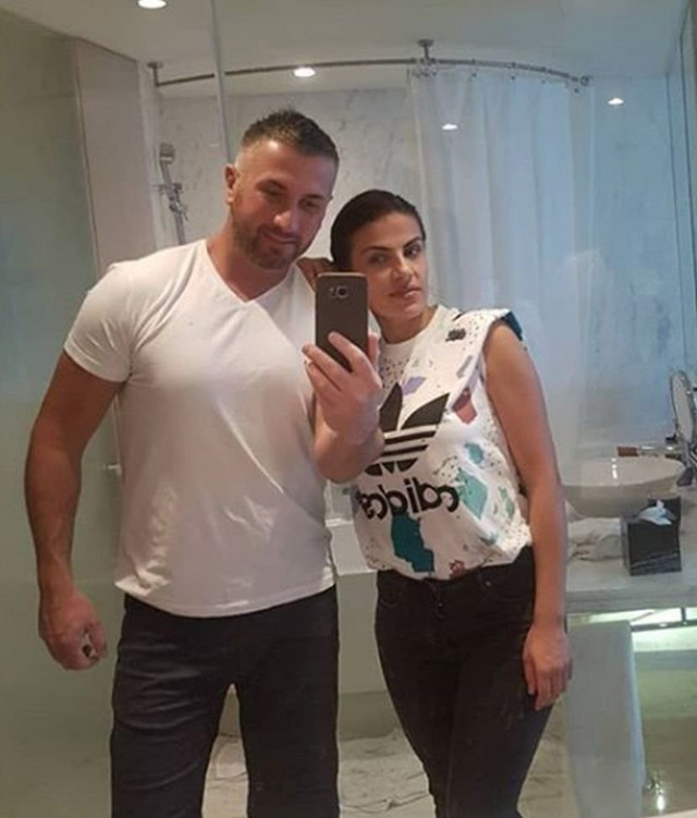 Edis Fetić sa suprugom Zilhom