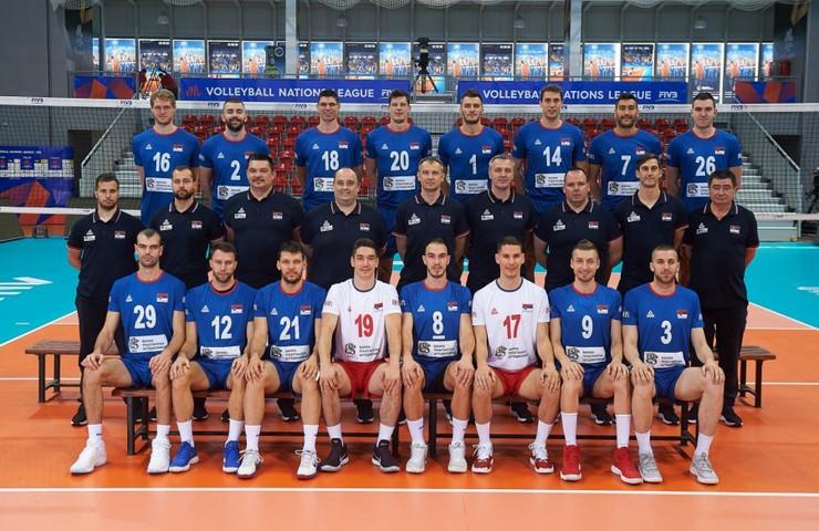 Muška odbojkaška reprezentacija Srbije