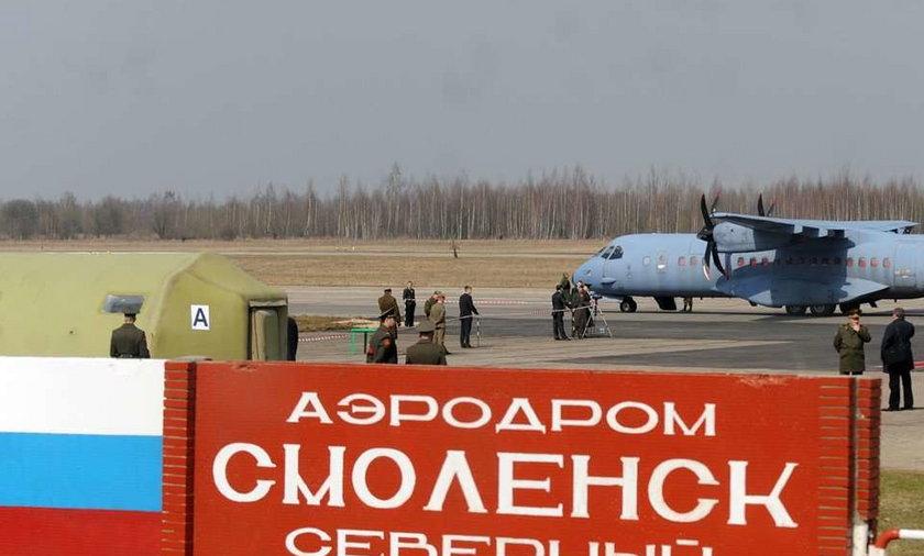 Nie mamy materiałów na temat lotniska w Smoleńsku