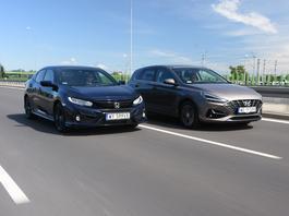 Hyundai i30 kontra Honda Civic – zdrowy rozsądek czy odrobina fantazji?