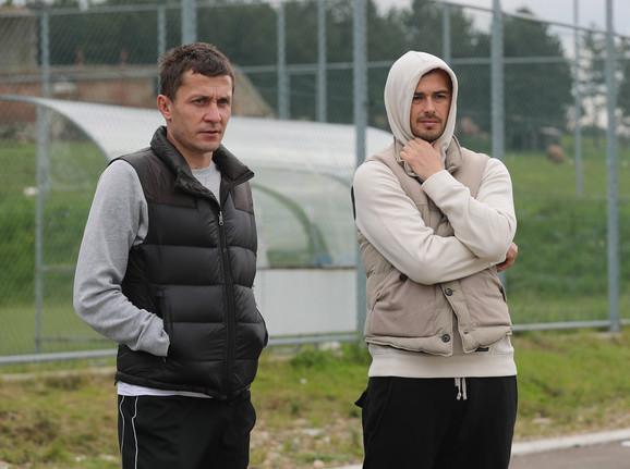 Saša Ilić i Danko Lazović na Zlatiboru