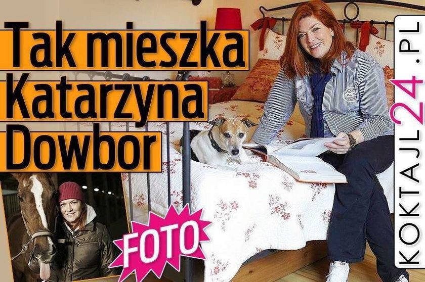 FOTO Tak mieszka Katarzyna Dowbor
