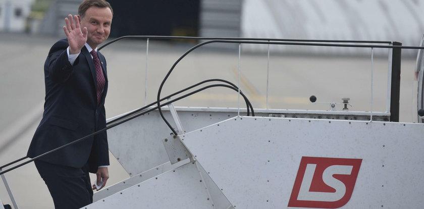 TVN24: Prezydent i premier latali rządowymi samolotami... nad morze i na plan filmowy
