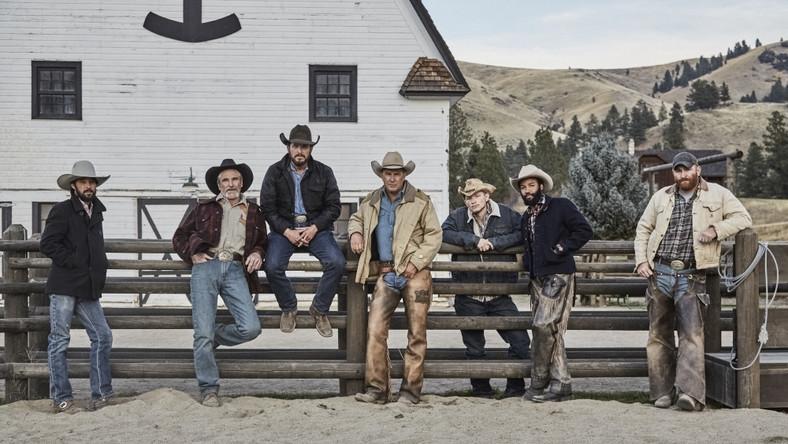 """Kowboje w serialu """"Yellowstone"""""""