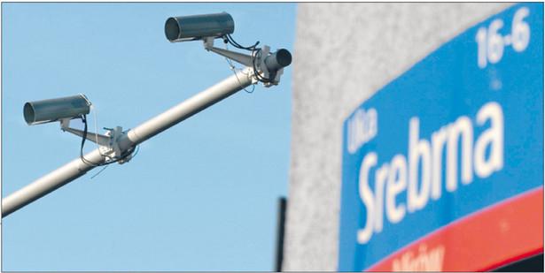 Policjantów i strażników miejskich zastąpią wszechobecne kamery Fot. W. Traczyk/SE/East News