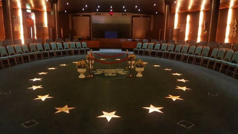 Venue of swearing-in of President Muhammadu Buhari's ministers on November 11, 2015 (State House)