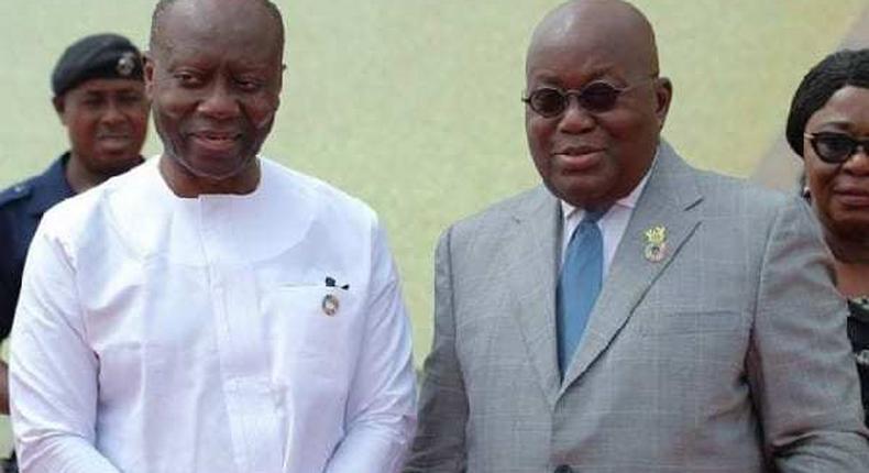 President Akufo-Addo and Ghana's Finance Minister, Ken Ofori Atta