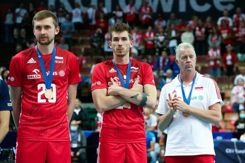 Nasi gracze sięgnęli w katowickim Spodku po brązowe medale, ale ich ambicje były większe.
