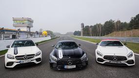 Pokaz mocy i prezentacja nowości – rozpoczęcie nowego sezonu AMG Driving Academy