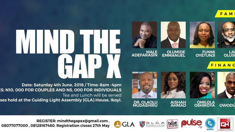 Mind The Gap X marriage and family oriented masterclass