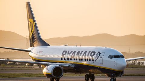 Z połączeń Ryanair między Warszawą a Gdańskiem i Wrocławiem rocznie korzysta około 600 tys. pasażerów