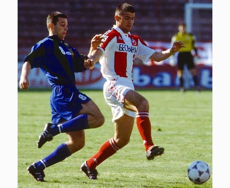 Dejan Stanković u periodu dok je nosio dres Crvene zvezde