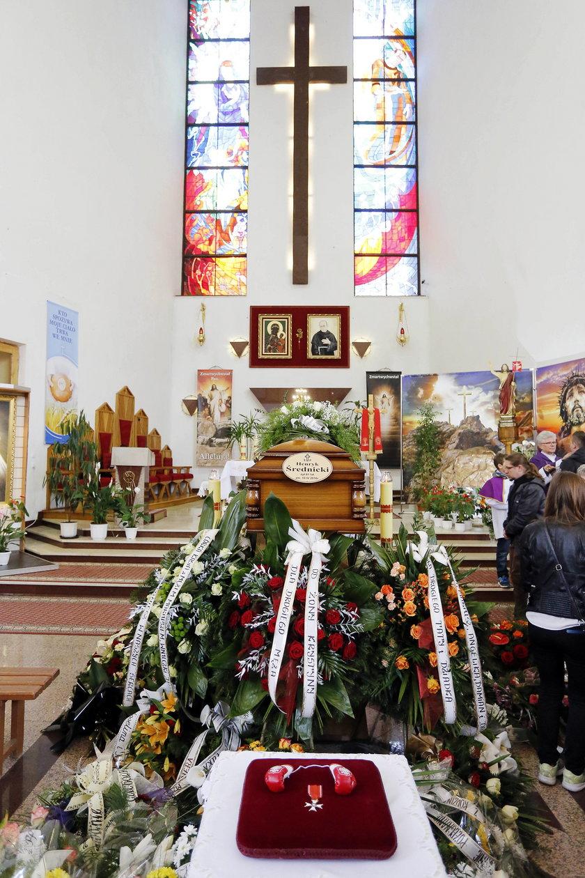 Pogrzeb Henryka Średnickiego