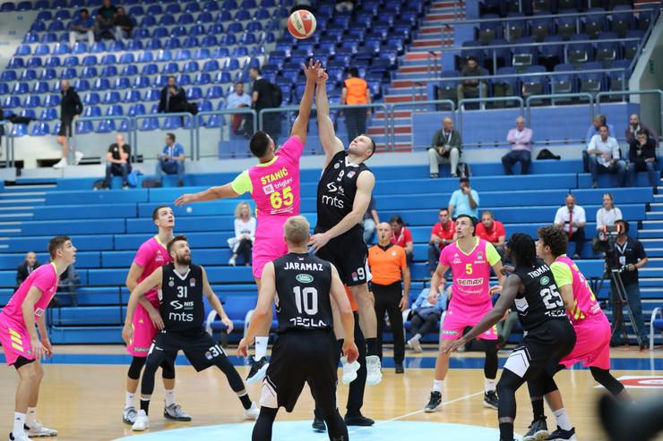 Podbacivanje Partizan Mega Bemaks